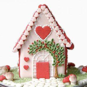 bánh nhà gừng giáng sinh (gia đình)
