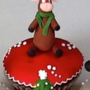 Bánh cupcake giáng sinh (trang trí)