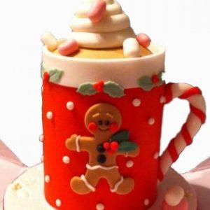Bánh mini cake giáng sinh (trang trí)