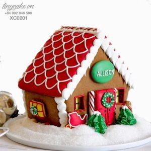 Bánh nhà gừng giáng sinh (trang trí)