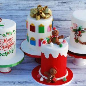 Bánh mini Cake giáng sinh (tặng)